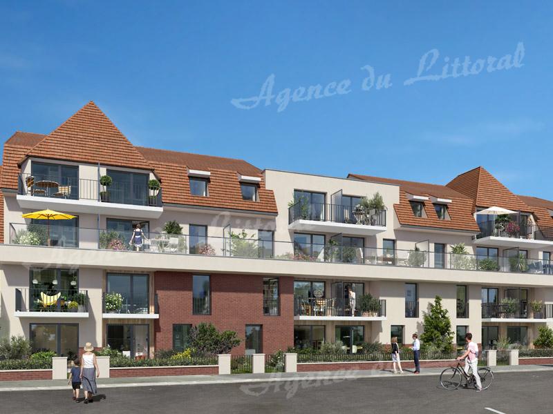 Résidence EQUINOXE - Appartement FACE MER à CAYEUX-SUR-MER