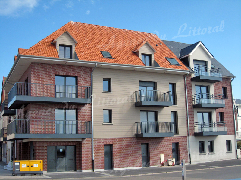 L'ANCRAGE - Appartements Neufs Face mer à CAYEUX-SUR-MER