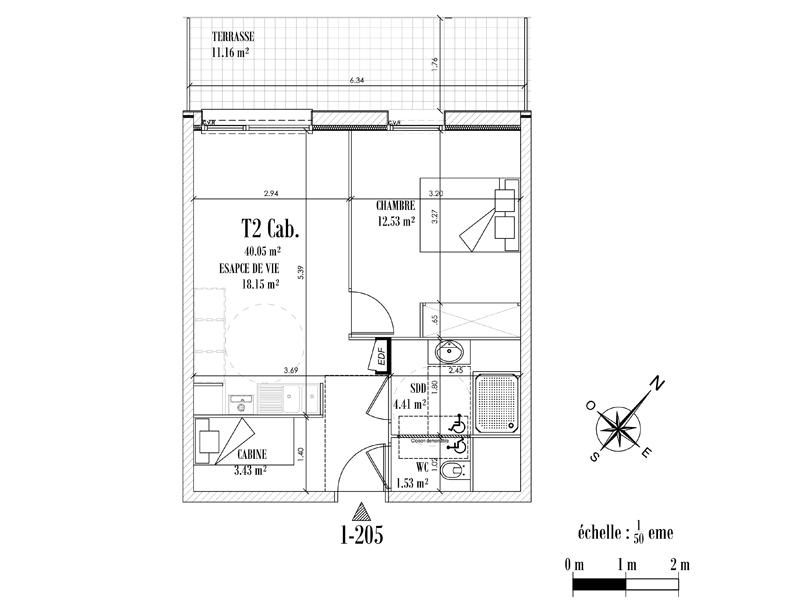 Appartement Face mer à CAYEUX SUR MER - Equinoxe n°205