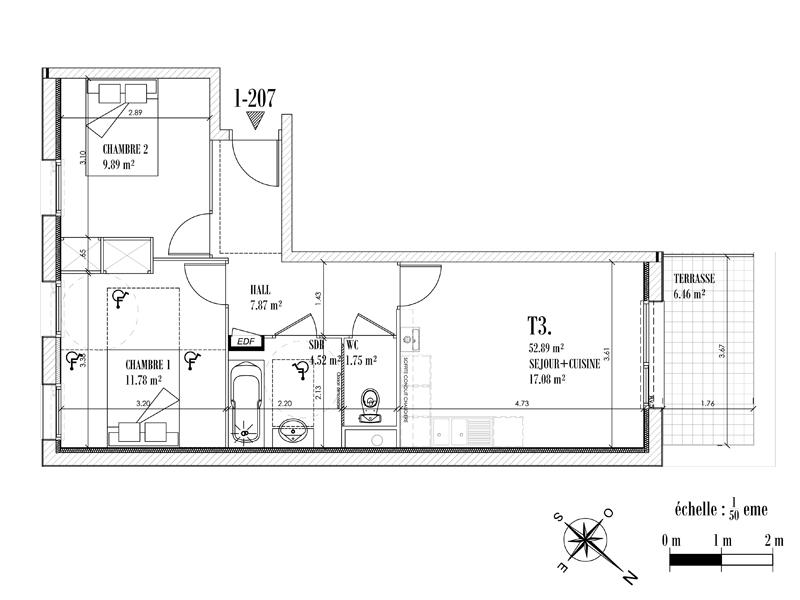 Appartement Face mer à CAYEUX SUR MER - Equinoxe n°207