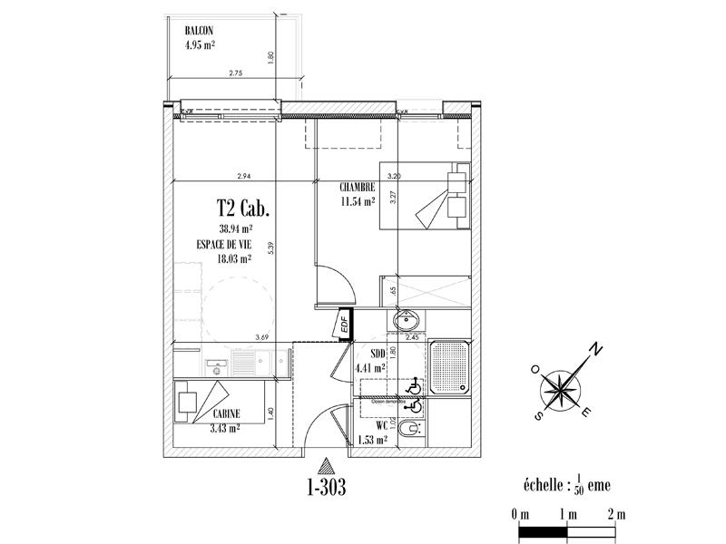 Appartement Face mer à CAYEUX SUR MER - Equinoxe n°303