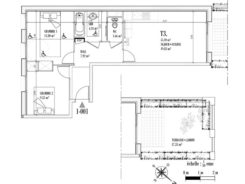 Appartement Face mer à CAYEUX SUR MER - Equinoxe n°001