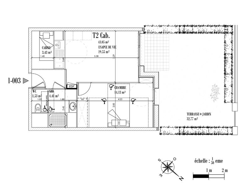Appartement Face mer à CAYEUX SUR MER - Equinoxe n°003