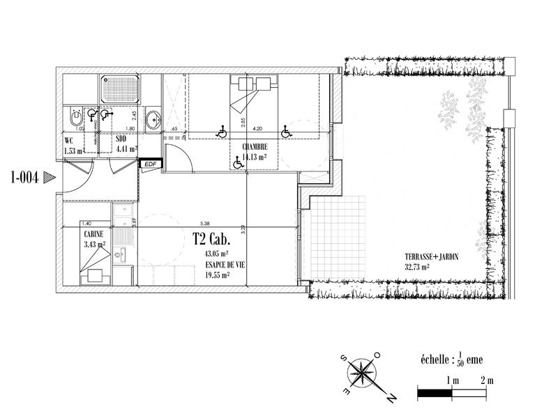 Appartement Face mer à CAYEUX SUR MER - Equinoxe n°004