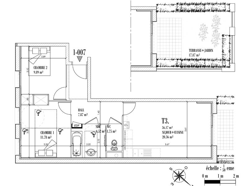 Appartement Face mer à CAYEUX SUR MER - Equinoxe n°007